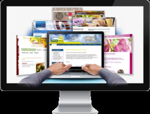 Custom Website design and development service