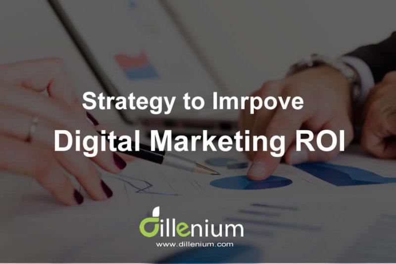 strategy to improve digital marketing ROI