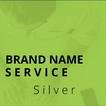 custom brand naming service silver