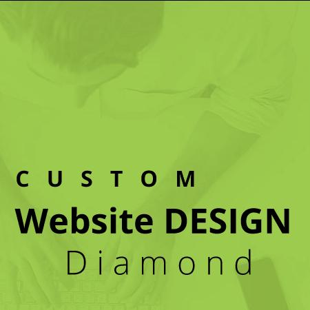 custom website design service diamond