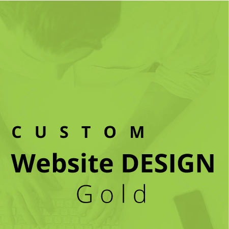 custom website design service gold
