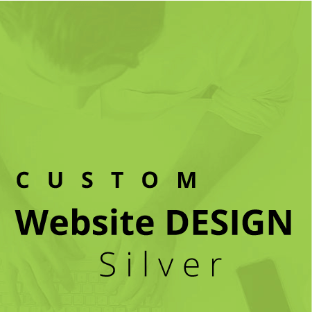 custom website design service silver