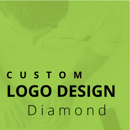 professional custom logo design service diamond