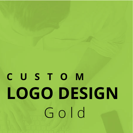 professional custom logo design service gold