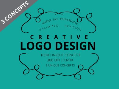 Creative logo design custom logo design