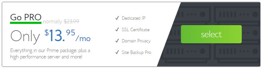 Blog hosting Package with SSL