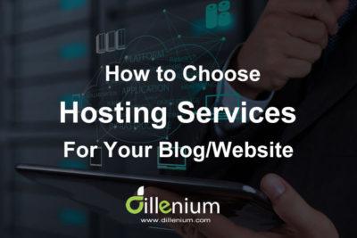How to choose best web hosting services for blog website