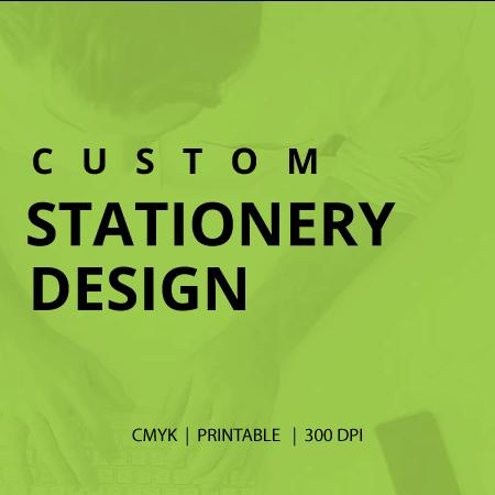 custom stationery design