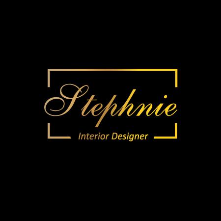 interior designer logo deisgn gold logo design