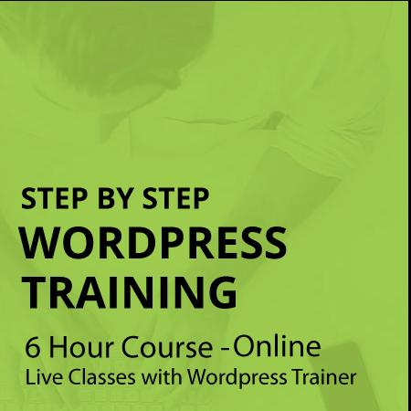 wordpress training wordpress course