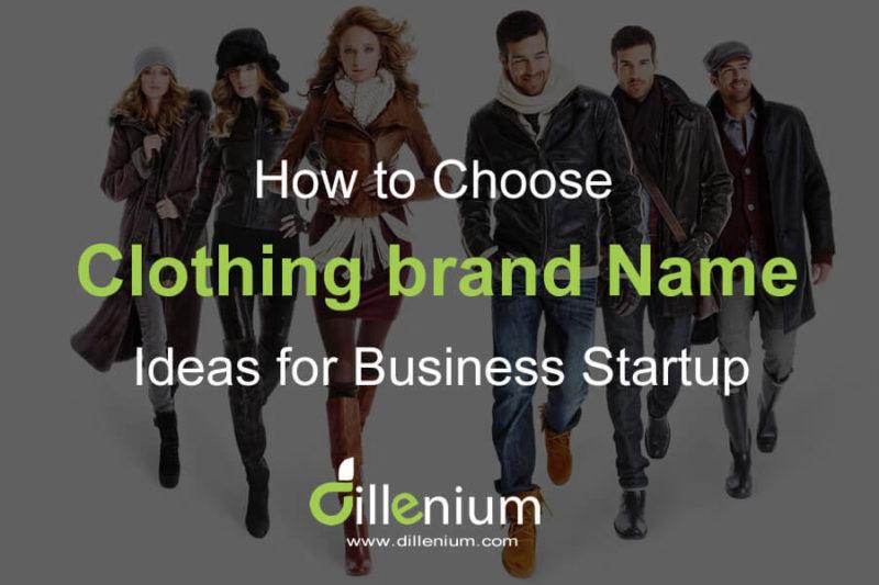 Clothing Brand Names Ideas