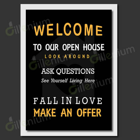 Realtor Open house flyer printable 11x14 inches