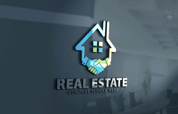 20 attractive real estate logo design templates to brand Beautiful real estate pictures