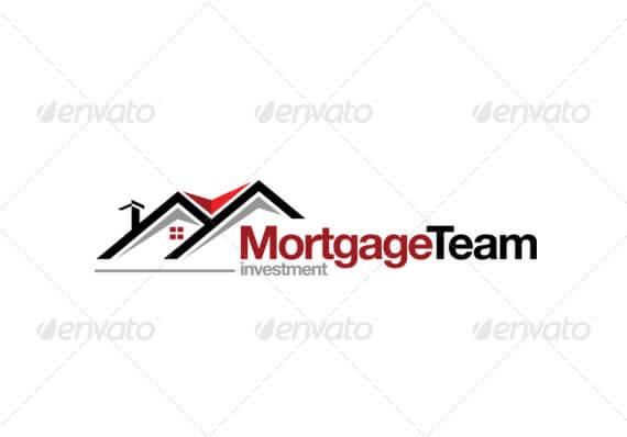 simple real estate logo design template 4