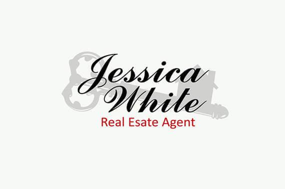 real estate logo design with key theme