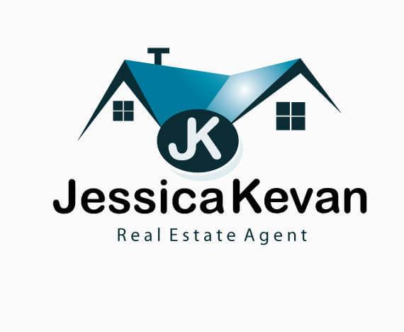 super cool real estate logo design template