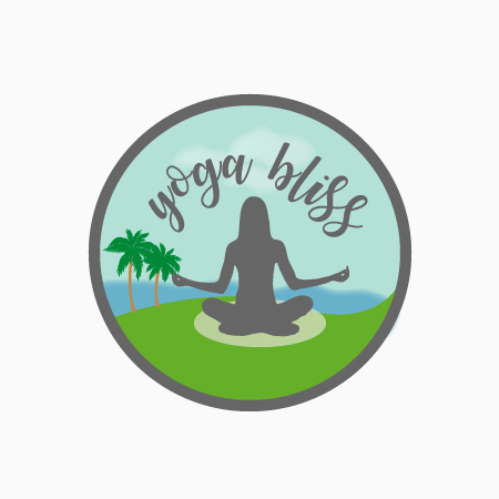 yoga logo template design