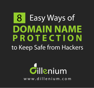 8 easy ways of domain name protection to keep safe from hackers