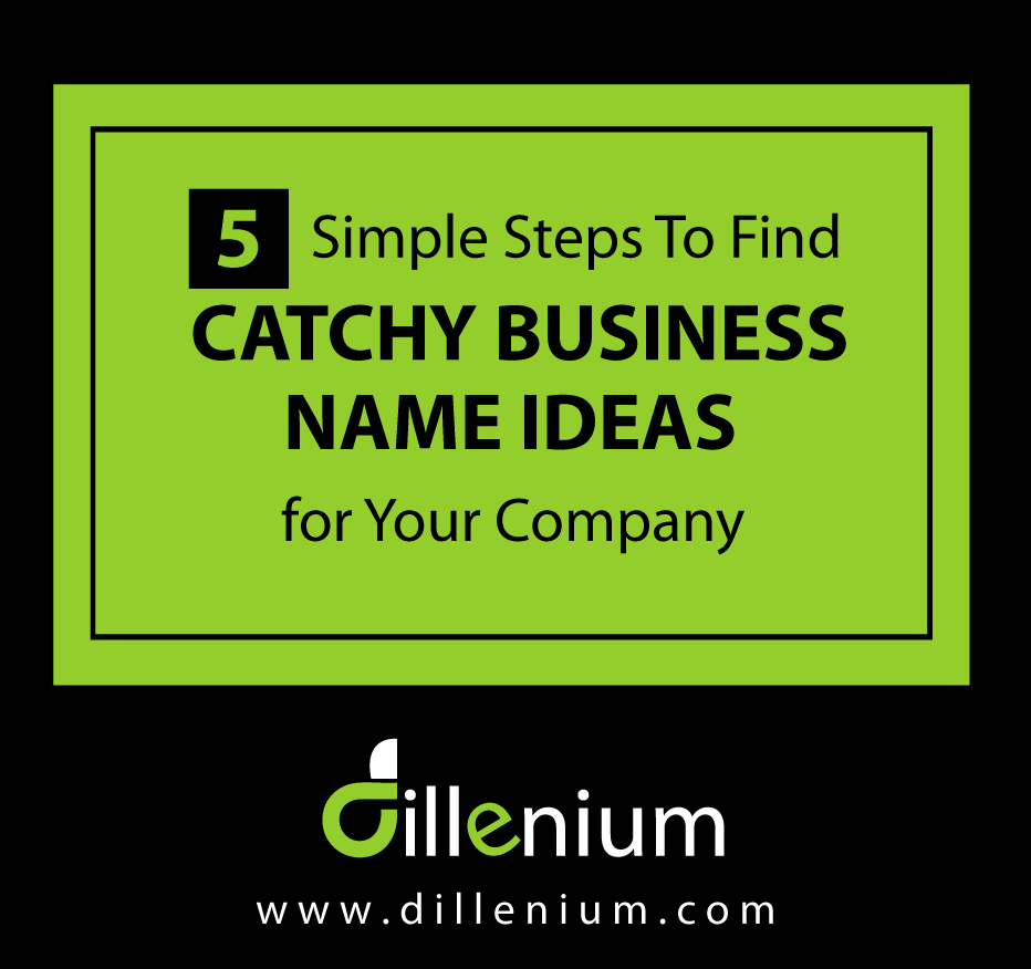 find catchy business name ideas for your company - Digital Marketing