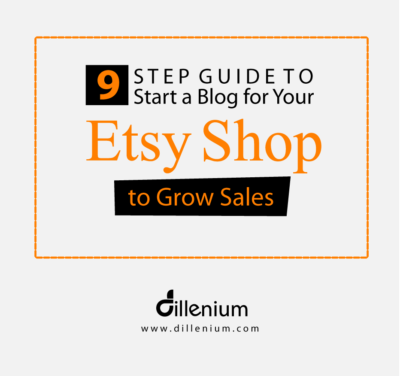 guide to start a blog for your etsy shop to grow sales