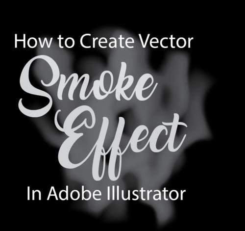 smoke vector illustrator