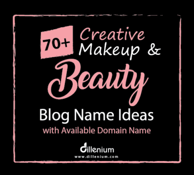 Beauty blog name ideas