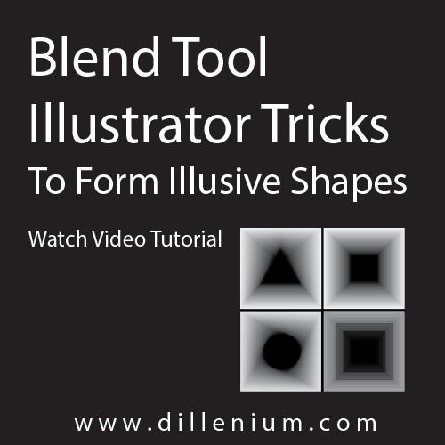 blend tool illustrator