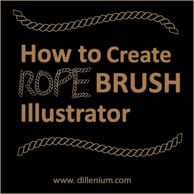 rope brush illustrator