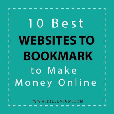 websites to bookmark to make money online