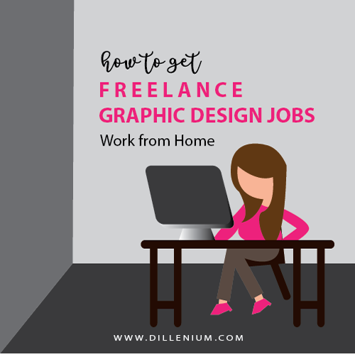 how to get freelance graphic design jobs online work from home