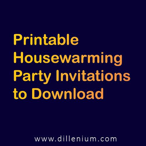 printable housewarming party invitations