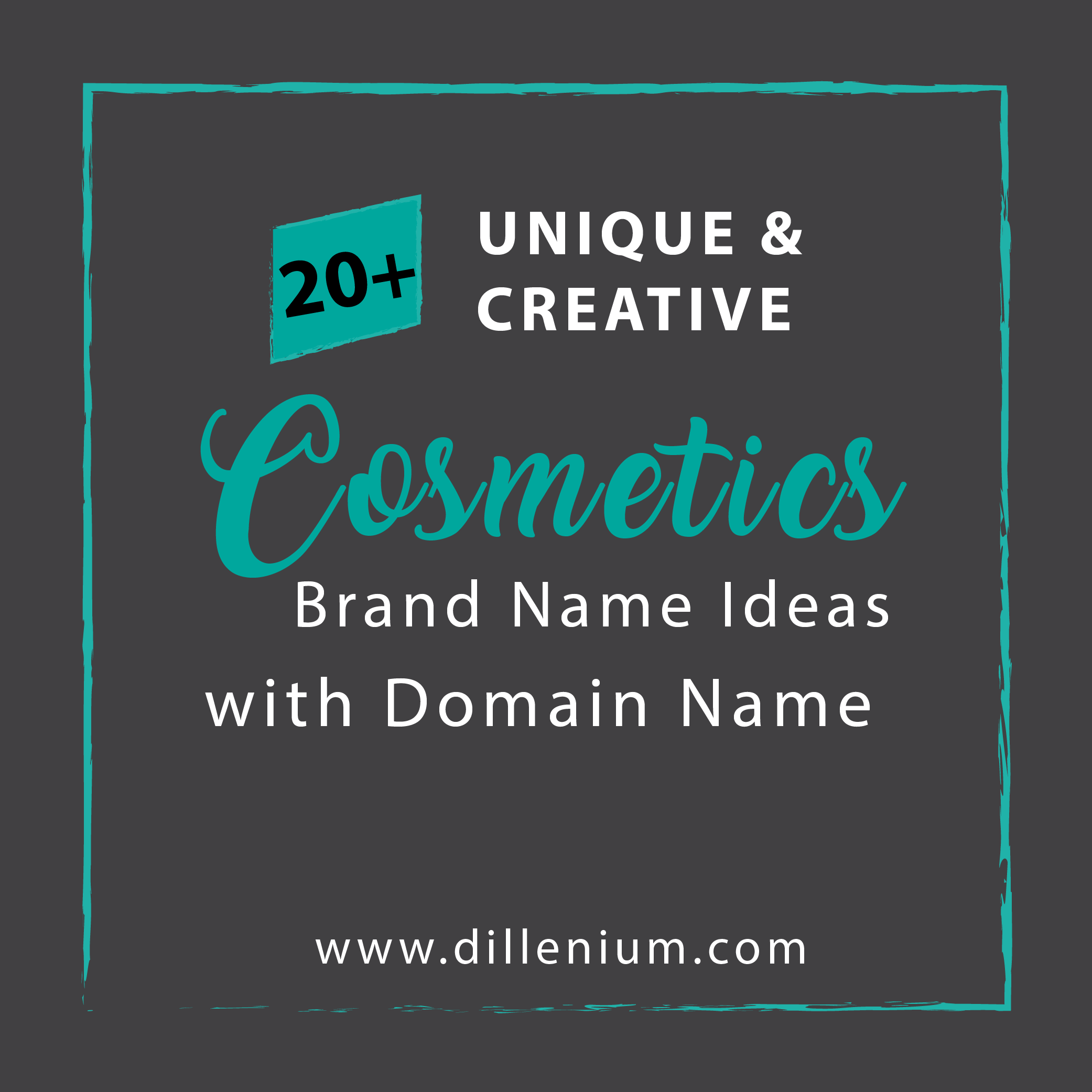20+ Cosmetic Brand Name Ideas with Available Domain Name