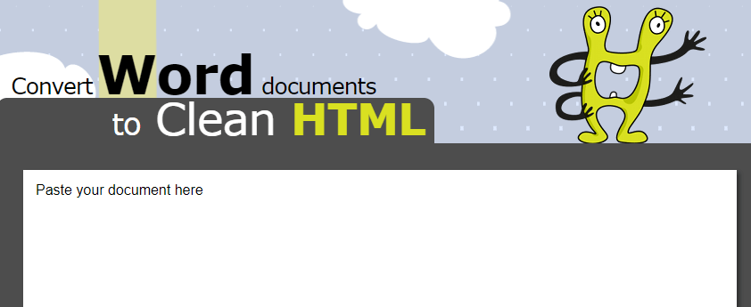 content marketing tool - Word2Html