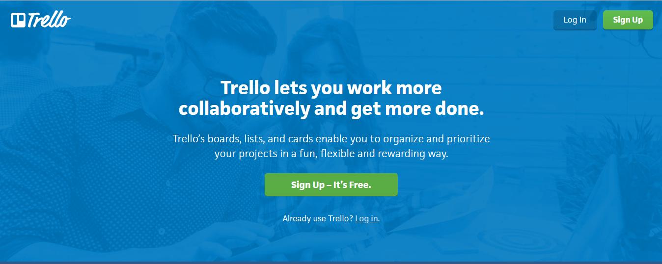 content marketing tool - Trello